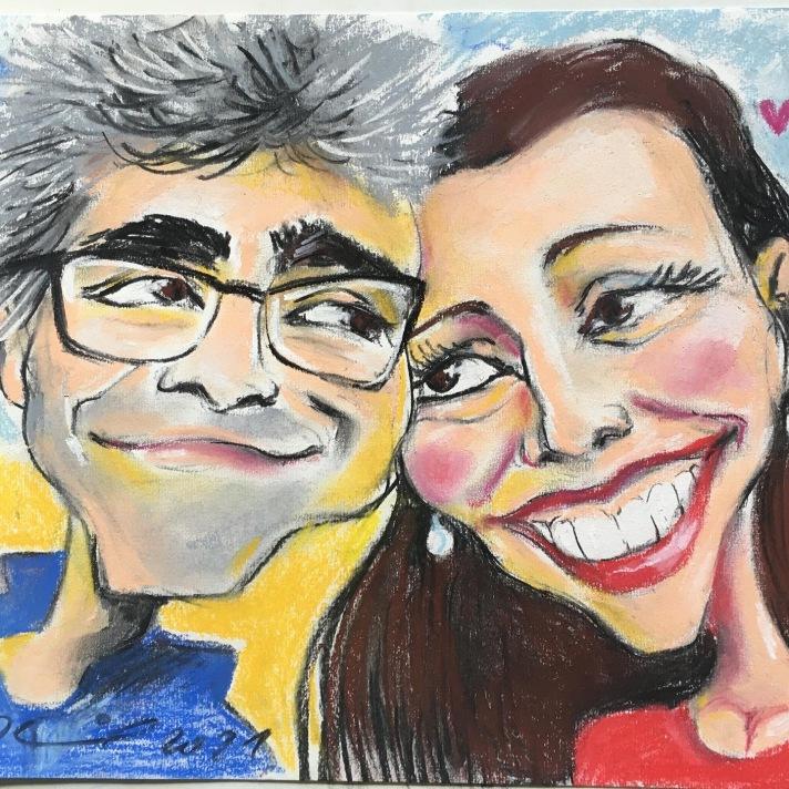 caricatura-casal